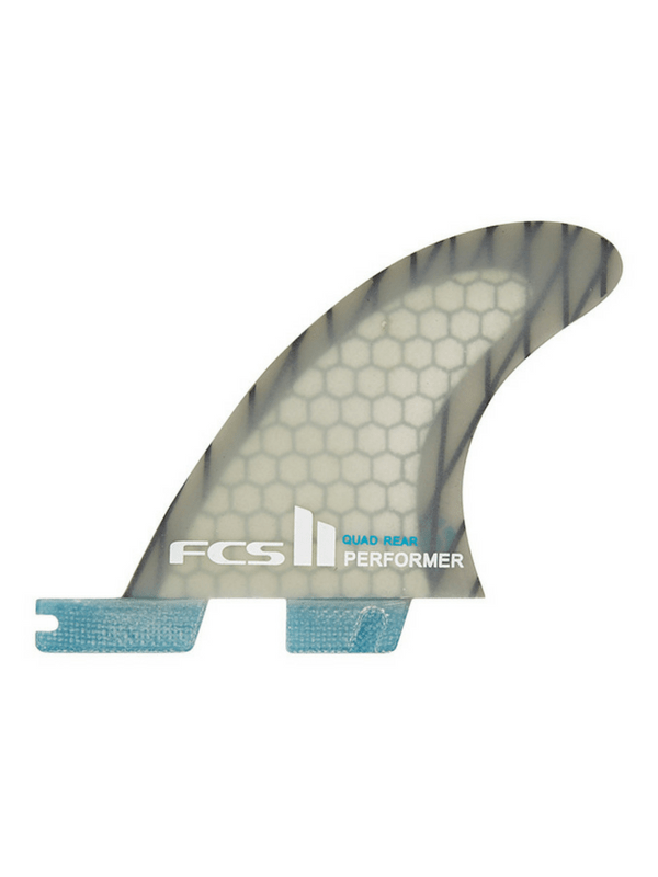 FCS FCS II PERFORMER PC CARBON QUAD REARS - BLUE