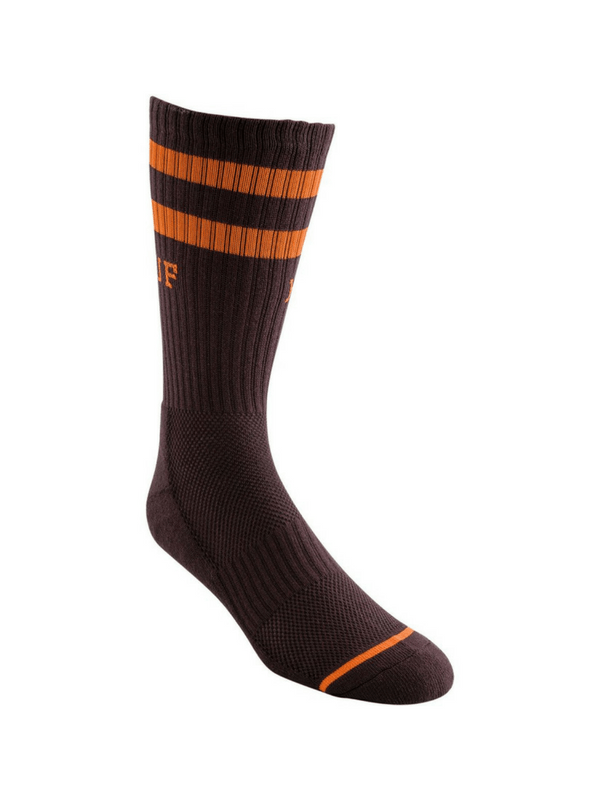 HUF 2 STRIPE CREW SOCK