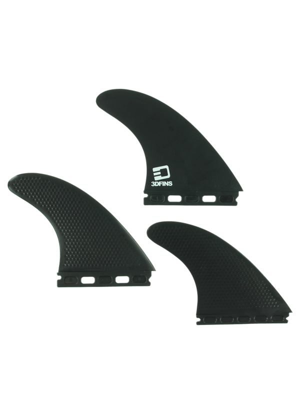 3D XCS LITE FULL-BASE 5.0 KERR BLACK FINS