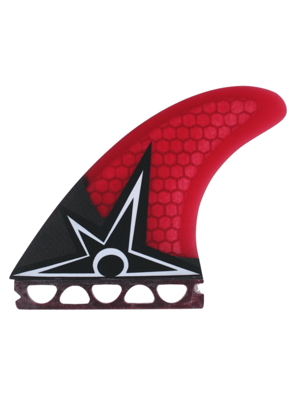 KINETIC RACING BRUCE IRONS CARBO TUNE S-M FFS RED FINS