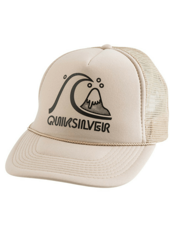 QUIKSILVER THE ORIGINAL TRUCKER HAT