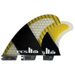 FCS II STRETCH PC CARBON LARGE TRI-QUAD FINS (1)