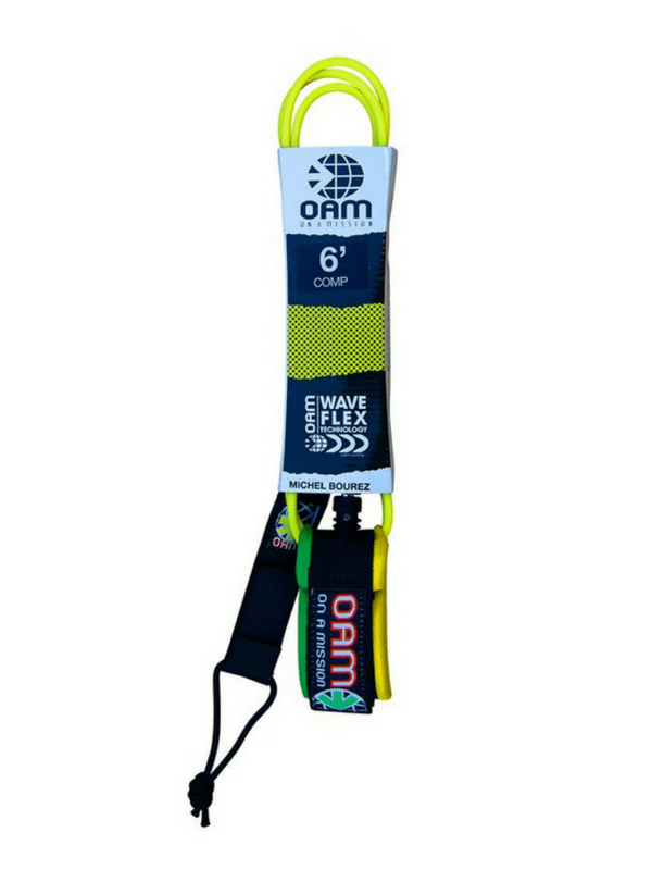 ON A MISSION 6' COMP SURF LEASH