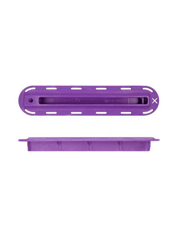 FUTURES FINS 12'' PURPLE FIN BOX W 10-24 THREAD SIDE