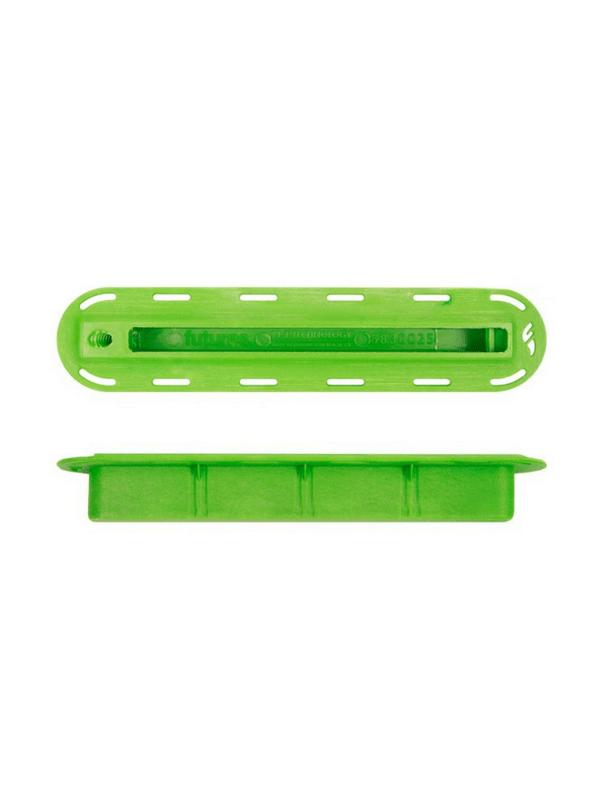 FUTURES FINS 34'' GREEN FIN BOX W 10-24 THREAD SIDE