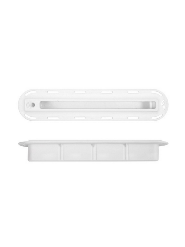 FUTURES FINS 34'' WHITE FIN BOX W 10-24 THREAD SIDE