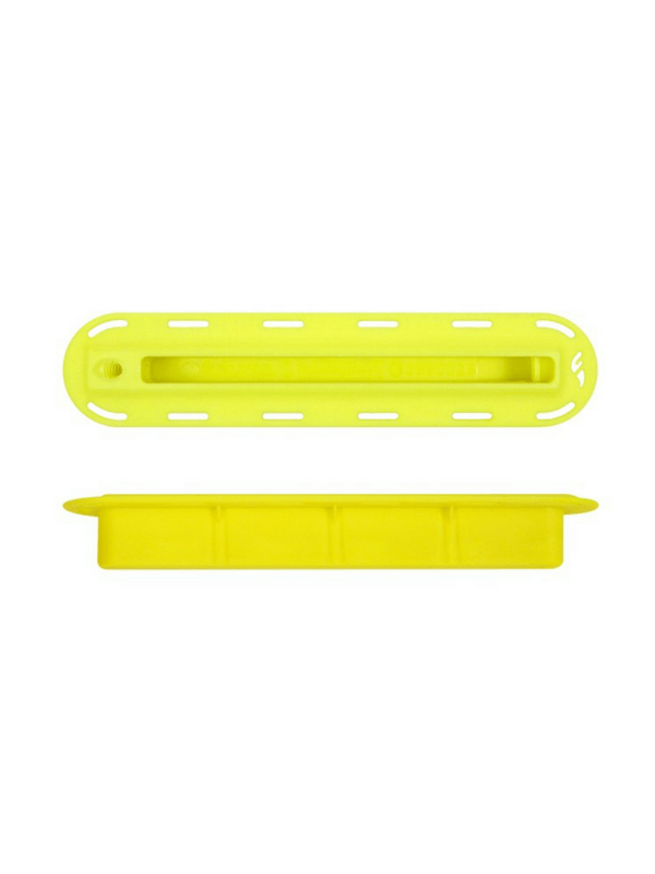 FUTURES FINS 34'' YELLOW FIN BOX W 10-24 THREAD SIDE