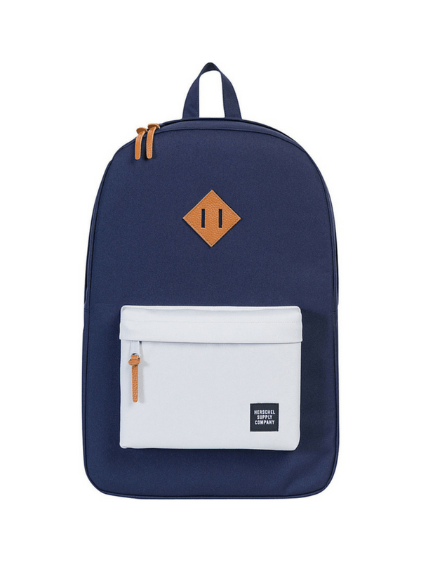 HERSCHEL SUPPLY CO HERITAGE BACKPACK - PEACOAT LUNAR ROCK (1)