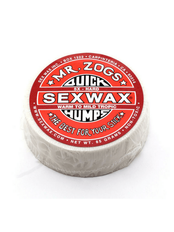 SEX WAX QUICK HUMPS 5X HARD WARM TO MILD TROPIC COCONUT