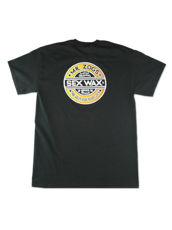 SEX WAX THE FADE BLACK T-SHIRT