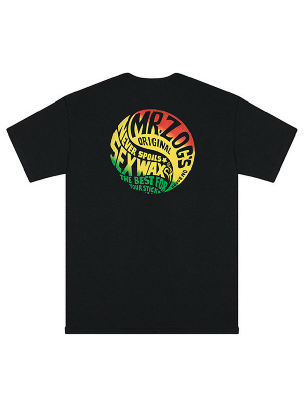 SEX WAX THE HAIGHT T-SHIRT BLACK