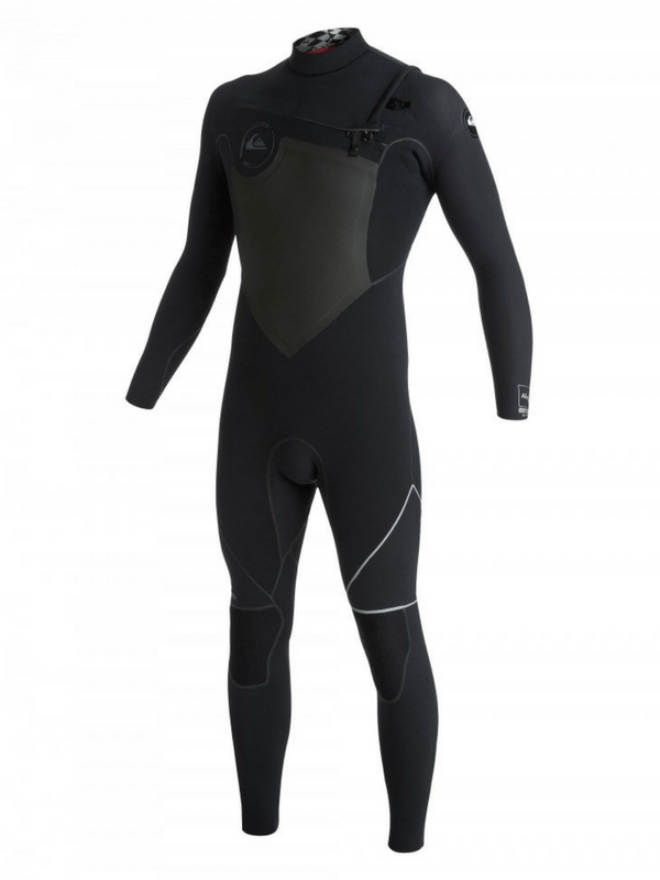 QUIKSILVER AG47 2X BONDED 4.54MM CHEST ZIP STEAMER WETSUIT
