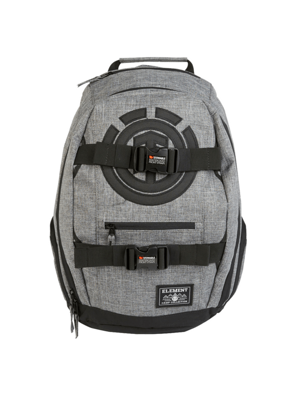 ELE MOHAVE BACKPACK GREY GRID HEATHER