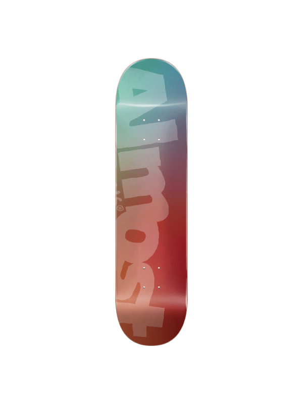 ALM SIDE PIPE BLURRY DECK-8.25 TEAL_CARDINAL ppp