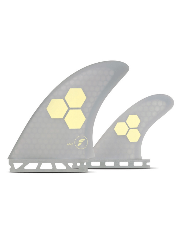 FAMT HONEYCOMB THRUSTER - GREY WITH BEIGE LOGO