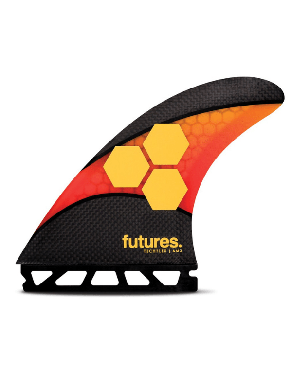 FUTURE FINS AM2 TECHFLEX THRUSTER – ORANGE_RED