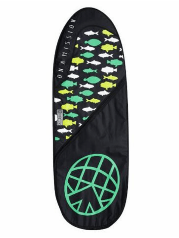 ON A MISSION OAM DAY MISSION 6'4 FISH BAG GREEN