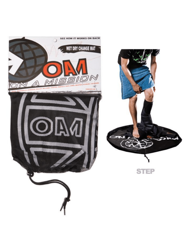 ON A MISSION OAM WET DRY CHANGING MAT