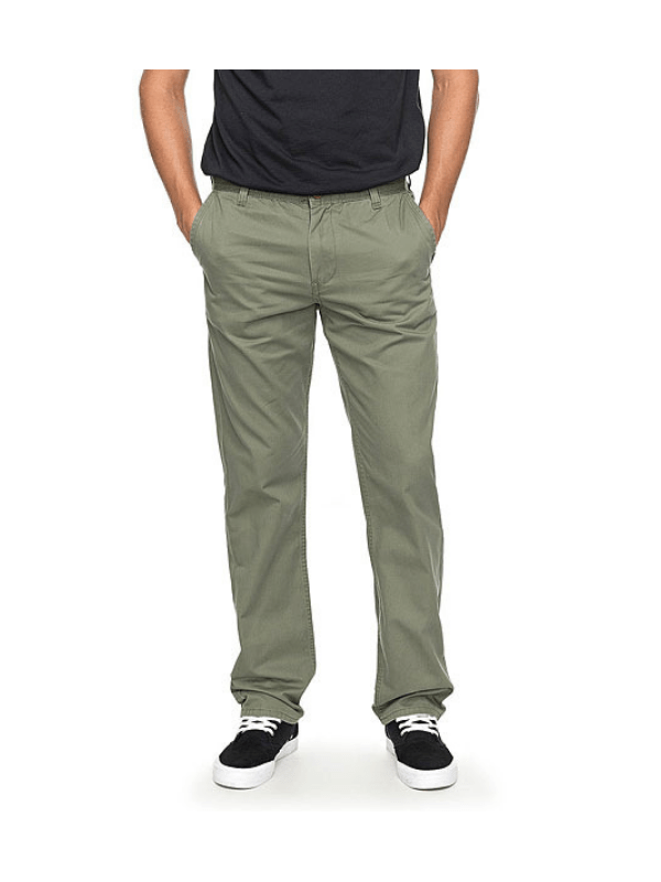 QUIKSILVER EVERYDAY LIGHT CHINOS GREEN