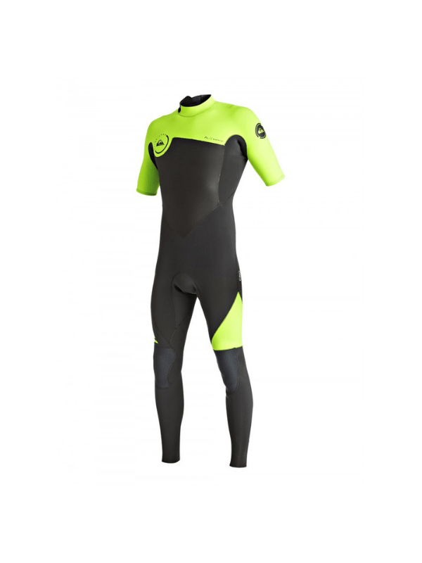 QUIKSILVER MENS SYNCRO 2_2MM – BACK ZIP SHORT SLEEVE STEAMER WETSUIT