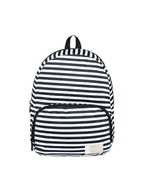 roxy always core extra small backpack black white stripe c70f3473feb6e