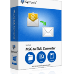 >20% Off Coupon code SysTools MSG to EML Converter