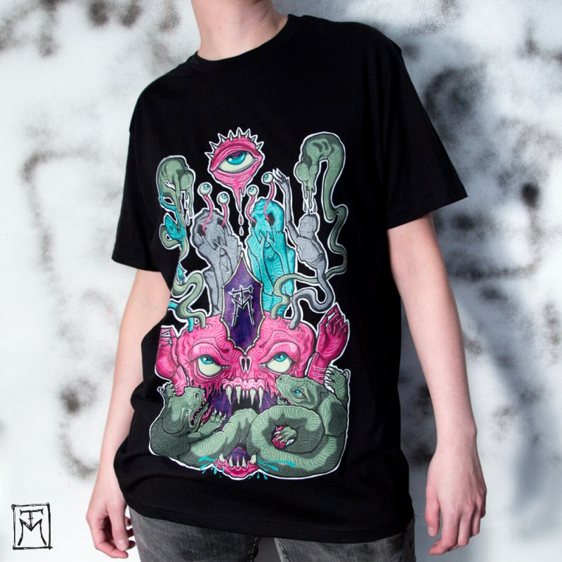 Consumed Graphic Tee by TM