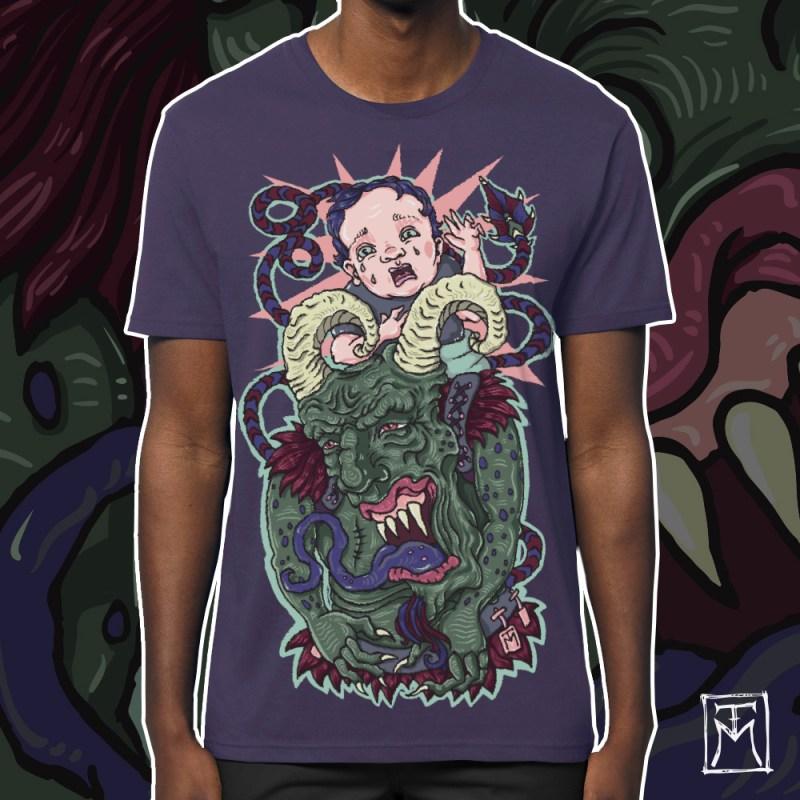 Krampus T-Shirt by TM