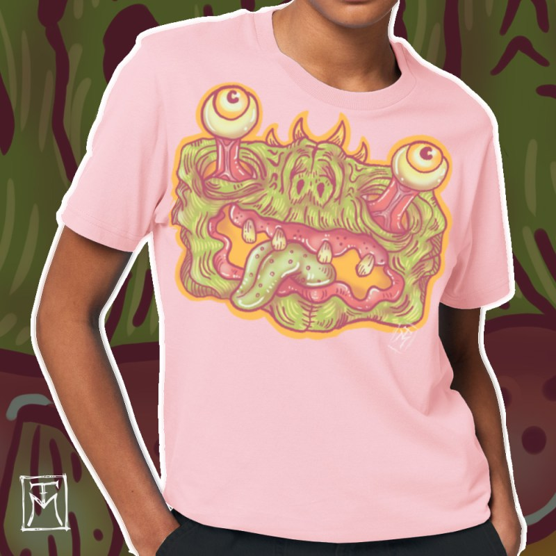 Feed Me Pink Shirt Variation