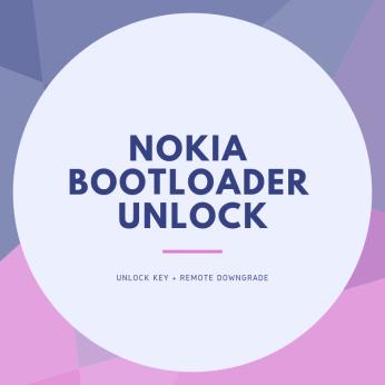 Nokia bootloader unlock service