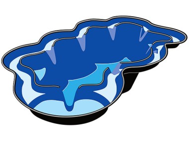 Teichschale Neptun V, Fertigteich, Teich, Gartenteich, Fischteich, Teichbau
