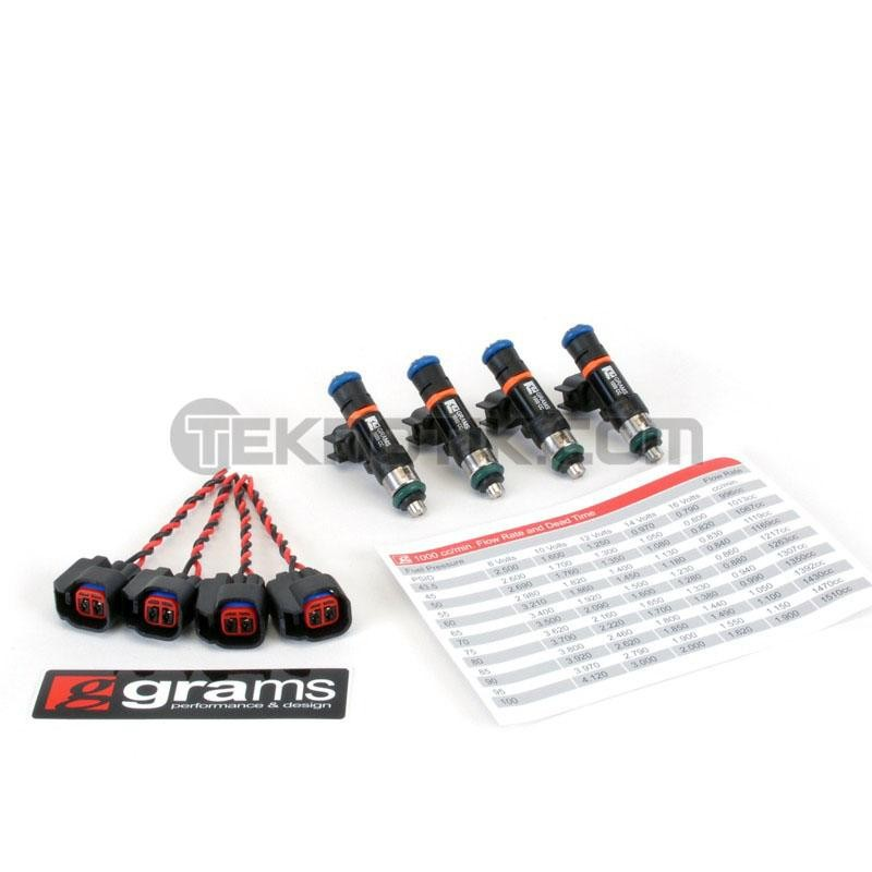 Grams 1000cc Injector Set K Series (Civic, RSX, TSX), D17