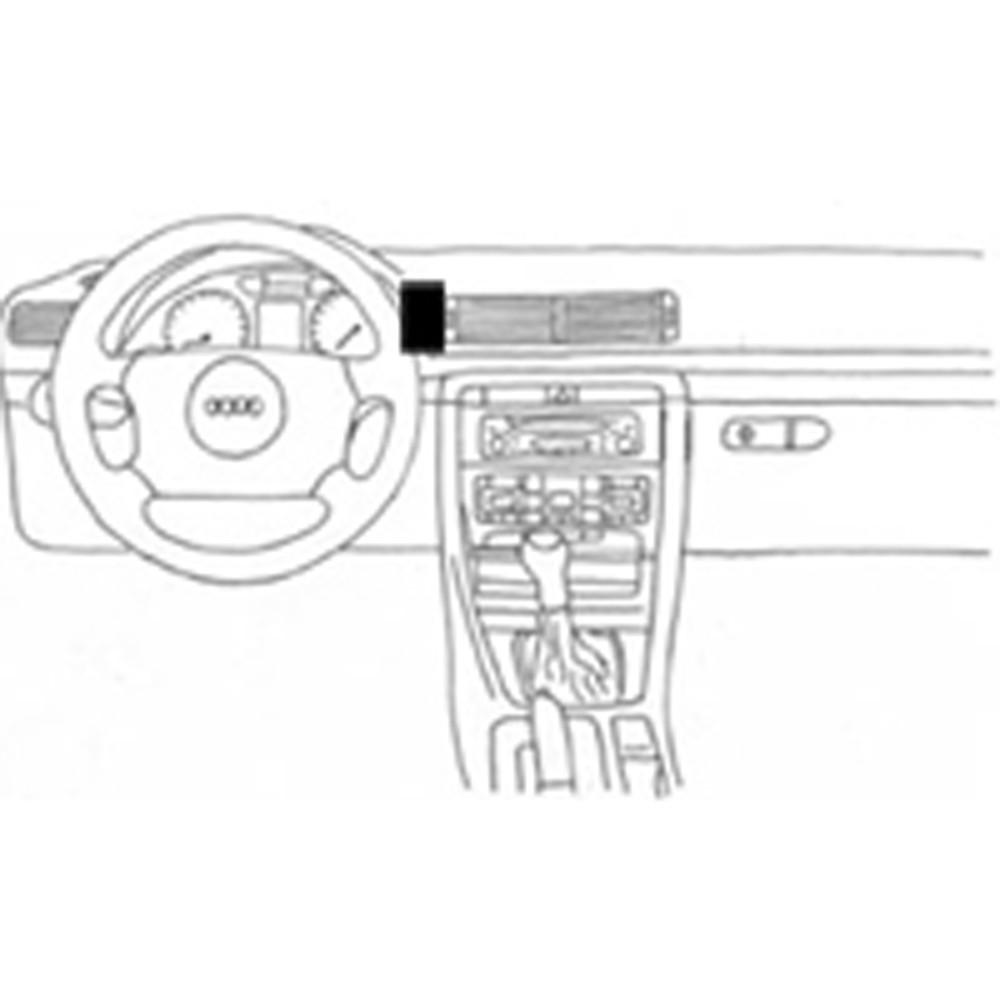 ProClip autokoht kiin Volvo C30 C70 S40 V50 keski vasen