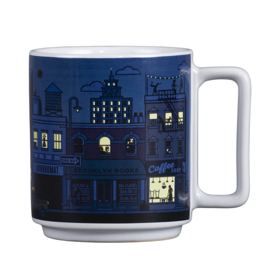 New York City Heat Changing Ceramic Mug 11 Fl Oz Tenement Museum