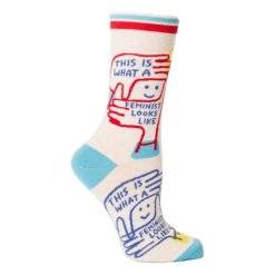 this is what a feminist looks like socks 708 1
