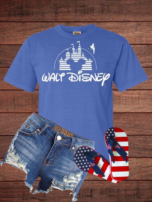 Walt Disney Logo with Tinkerbell