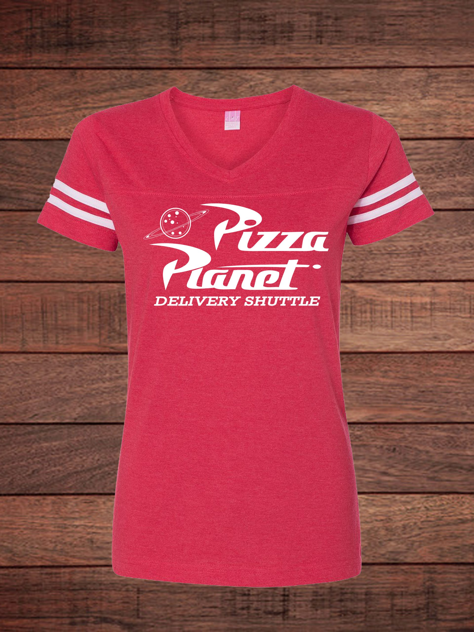 Pizza Planet Vintage Red Jersey
