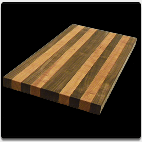 Black Walnut & Cherry Hardwood Cutting Board