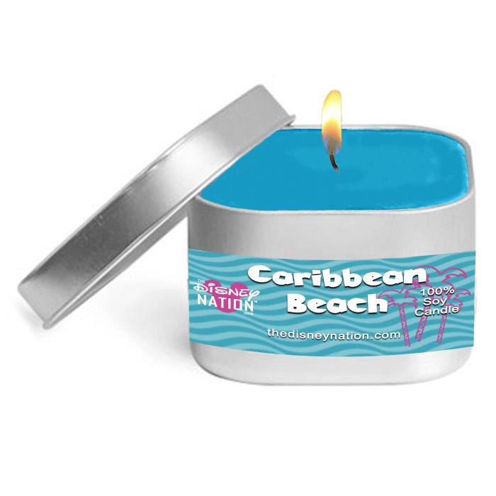 Caribbean Beach Fragrance Candle Small
