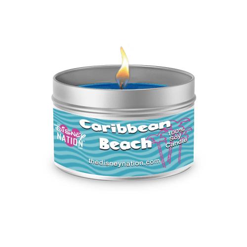 Caribbean Beach Fragrance Candle Large