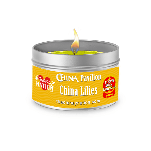China Pavilion - China Lilies Fragrance Candle Large