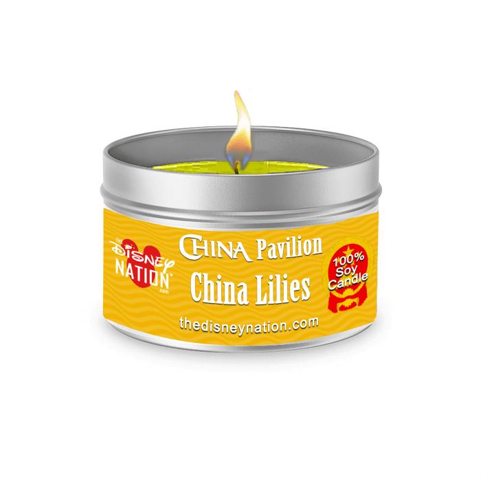China Pavilion - China Lilies Fragrance Candle Large