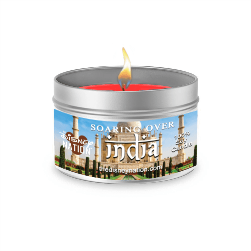 Soarin' Over India™ Fragrance Candle Large