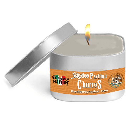 Mexico Pavilion - Churros Candle Small