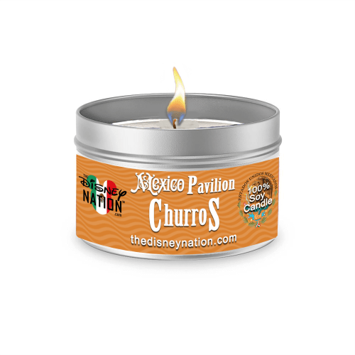 Mexico Pavilion - Churros Candle Large