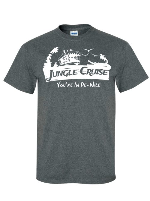 Jungle Cruise Dark Heather Grey T-Shirt