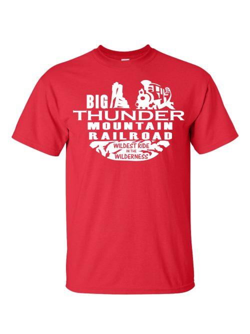 Big Thunder Mountain Railroad Red T-Shirt