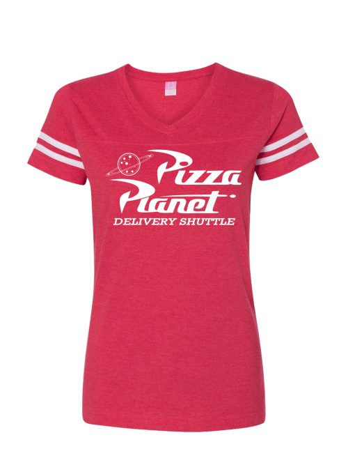 Pizza Planet Delivery Shuttle Women's Jersey