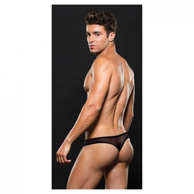 Envy MESH THONG Black
