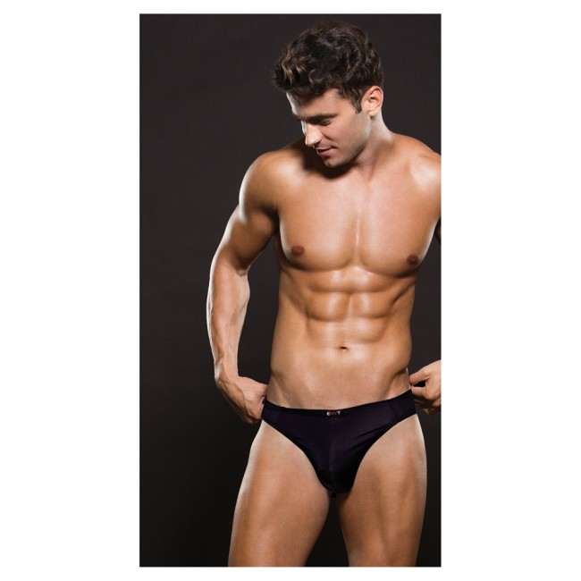 Envy MICROFIBER THONG Black